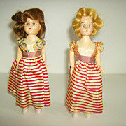 Hard Plastic Dolls ~ Sleep Eyes ~ 1940's