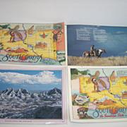 Souvenir South Dakota Plastic Placemats ~ Set of 4