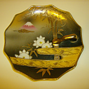 Porcelain Handled Dish R S Made in Japan