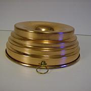 Copper Jello Mold   Tin Lined