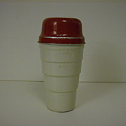 Malted Milk Shaker by Carnation 1950's