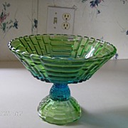 Jeannette Louisa Floragold Large Comport/Compote