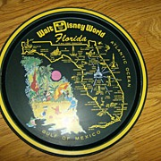 Florida Disney World Tin Tray