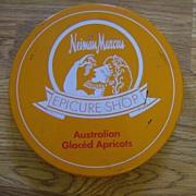 Neiman Marcus Tin ~ Australian Glaced Apricots ~ Epicure Shop