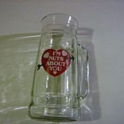 Beer Mug ~ I'm Nuts About You ~