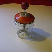 Vintage 1 Cup Food/Nut Chopper ~ Skippy  Peanut Butter Jar