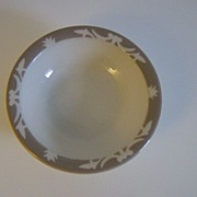 Syracuse China Nutmeg Dessert Bowl ~ 1913