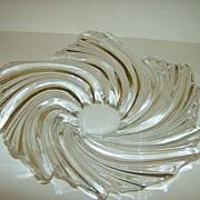 Art Glass Swirl Bowl