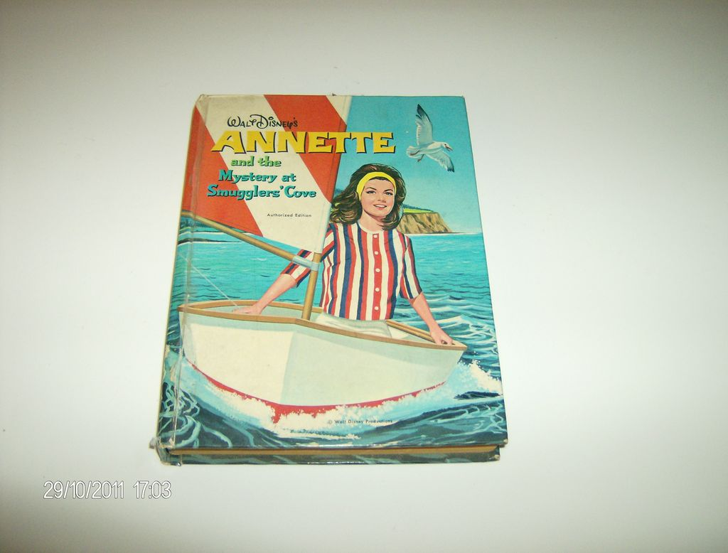 """Walt Disney's """"ANNETTE and the Mystery at Smugglers' Cove"""" ~ 1963"""