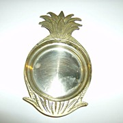 Andrea by Sadek Brass Pineapple Dish