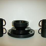 Melamine Restraware Plates & Bowls & Cups ~ 1960's