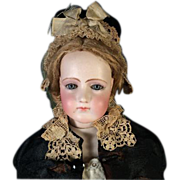 "Antique 20"" Portrait Jumeau French Fashion Doll Mature Jumeau Lady"