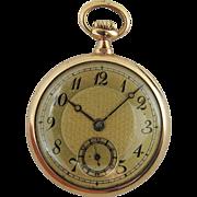 Vintage 14K Gold Concord 15 Jewel Ladies' Pocket Watch