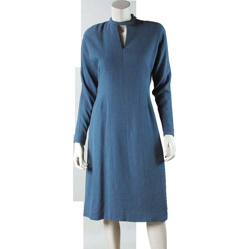 Smart Circa 1980 Pauline Trigère Day Dress