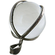 Vintage Pools Of Light Pendant Caged In Sterling Silver 19-MM / 3/4-Inches