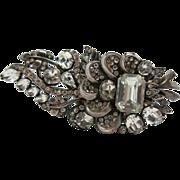 Opulent Vintage Eisenberg Sterling Silver Fur Clip