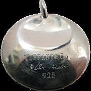 Elsa Peretti For Tiffany Sterling Silver Pendant