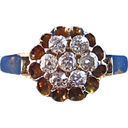 SALE Exquisite Downton Abbey Diamond Antique Victorian English Ring