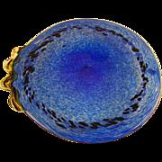 Kosta Boda Ann Wahlstrom Art Glass Platter
