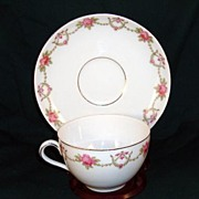 Victoria Czechoslovakian Cup and Saucer