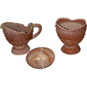 Argonaut Shell Chocolate Glass Sugar and Cream - L.G. Wright