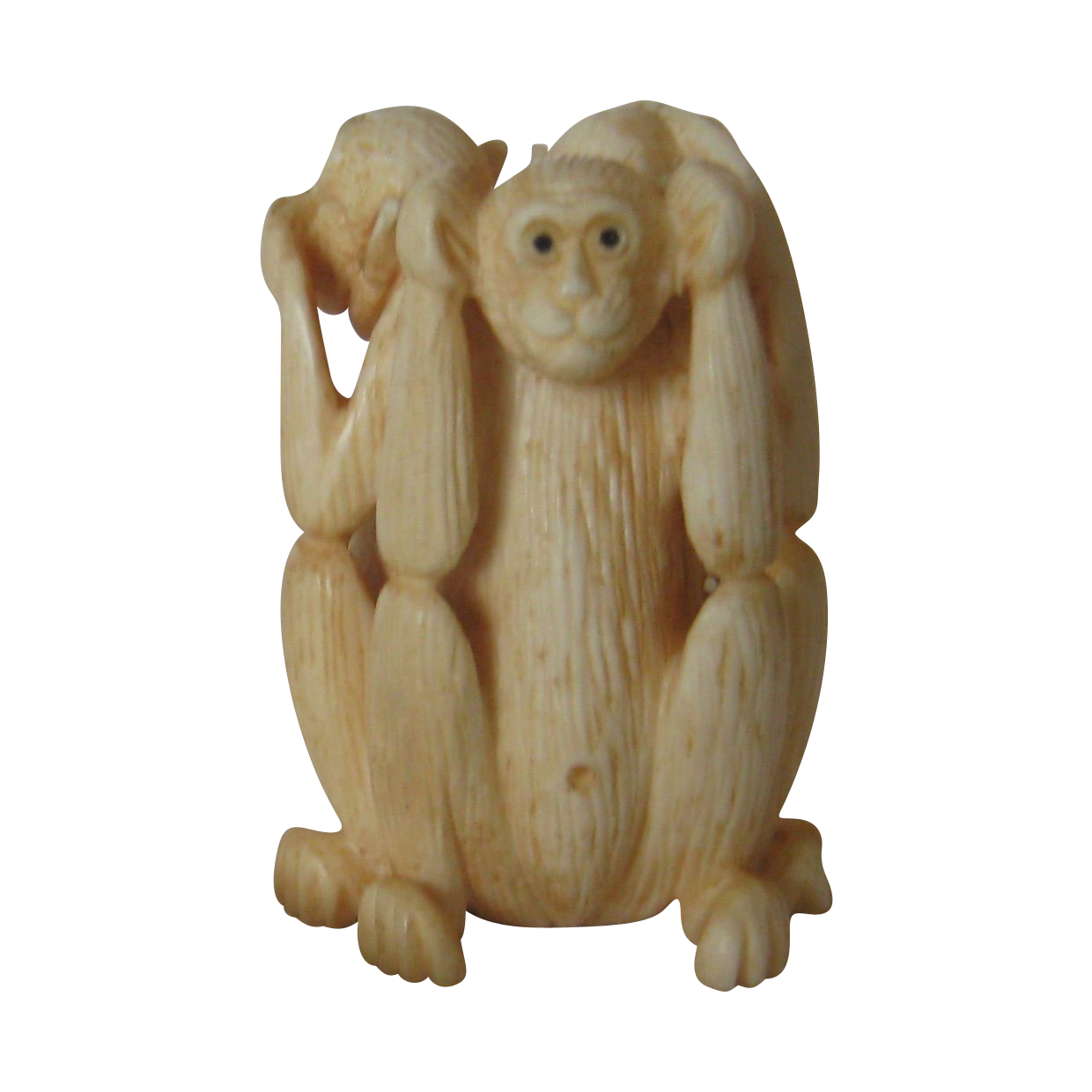 Carved Monkeys - See, Speak, Hear no  Evil