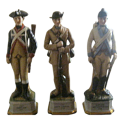 Three Royal Crown Military Soldiers
