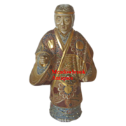 Rare Large Statue of Uba - Moriage, Kutani -