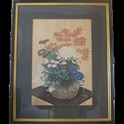 Japanese Woodblock Print by Bakufu Ohno - 1950's