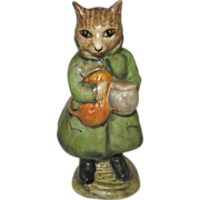 "Rare Beatrix Potter ""Simpkin"" Figurine"
