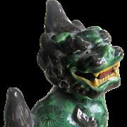 Kutani Shishi Foo Dogs - 1920's Showa Period