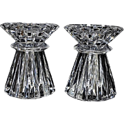 SALE Waterford Marquis Rock Crystal Candleholder / Votive