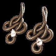Lalique Oceania Soleil 18kt Gold Plate Drop Earrings