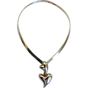 REDUCED Los Ballesteros Sterling Silver Signed Necklace Mexico