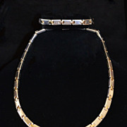 Rare Tiffany & Co. 18kt Gold & Sterling Link Necklace Set