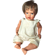 Antique c1910s Celluloid Baby Doll Made in USA!
