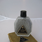 Art Deco California Nugget Perfume in Box Complete