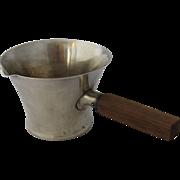 Porter Blanchard Arts & Crafts Sterling & Ebony Sauce Pot