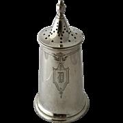 Late 1800s Sterling Sugar Shaker Meriden Brittania