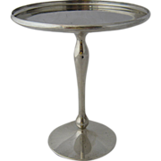 """Shreve & Co Sterling Compote or Card Receiver 5"""" High"""