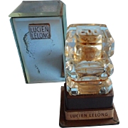 Mon Image Lucien Lelong Vintage Perfume Bottle Mirrored Box