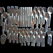 American Charm Stainless Steel Flatware Set Vintage International