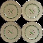 Coralbel Art Deco Vintage Syracuse China Bread Plates 4
