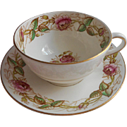 Victoria Chelsea Cup Saucer Vintage Bone China English
