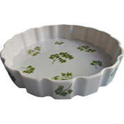 Parsley Tart Pan Dish Vintage Andrea By Sadek China