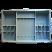1960s Oneida Stainless Deluxe Flatware Vintage Presentation Tray Holder