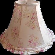 SOLD Blush Beauty Lamp Shade Rachel Ashwell Shabby Chic Ruffled