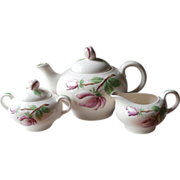 Tea Set Springtime Pearl China Vintage Hand Painted