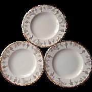 Royal Crown Derby Vine 3 Salad Plate Plates Bone China