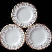Royal Crown Derby Vine 3 Bread Plate Plates Bone China